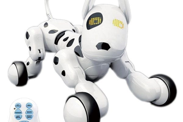 A rechargeable fun and intelligent robot pet dog from Hi-Tech Company can be a great gift for pet loving children ages 2 and up. Meet Dada, the wireless remote controllable robotic dog toy for kids. He is a perfect alternative for a real dog. He does not bite and attack anyone. Best of all, everyone can really learn valuable experiences from him, making him a fun educational toy. Let's review Dada: Interactive Wireless Remote Control Robot Pet Dog review