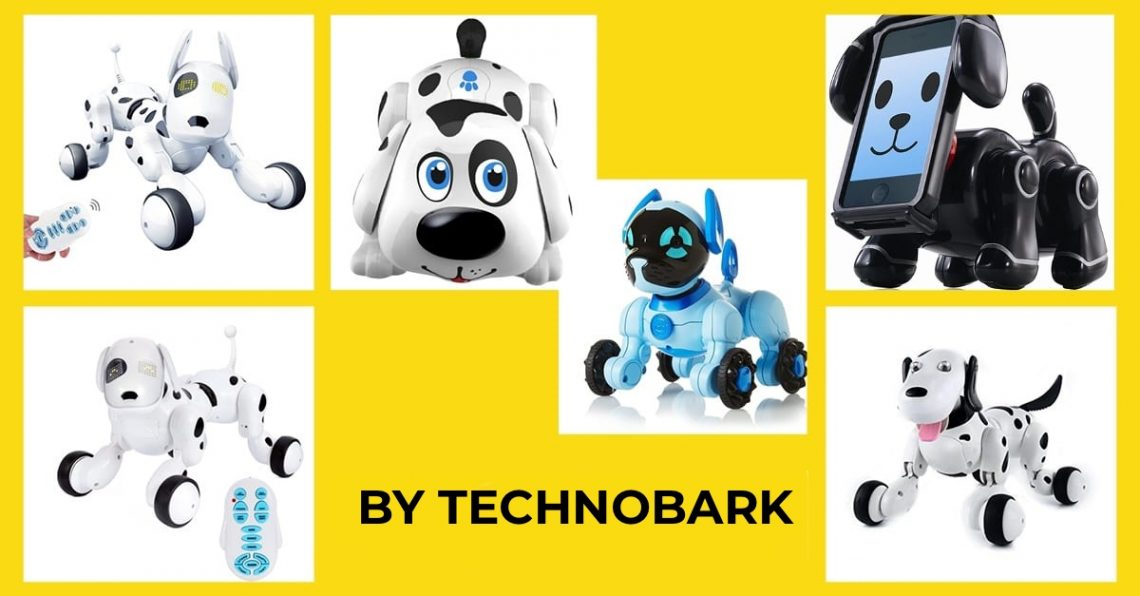 Best robot dog toys selection by Technobark.