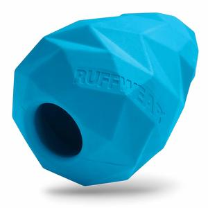 RUFFWEAR Gnawt-a-Cone interactive dog toy in blue color.