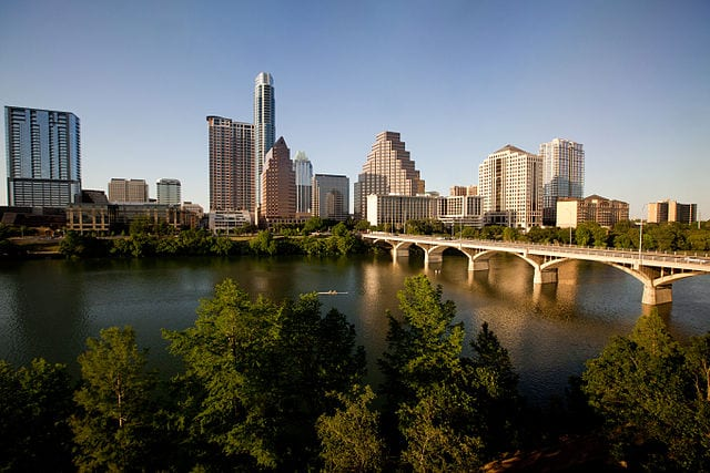 austin texas no. 3 dog friendly city