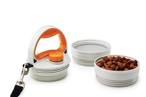 SitStayGo Multipurpose Food and Water Dog Travel Bowls