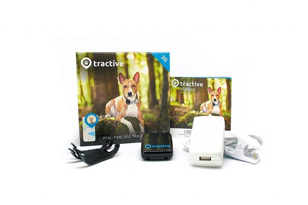 Tractive Dog smart collar package