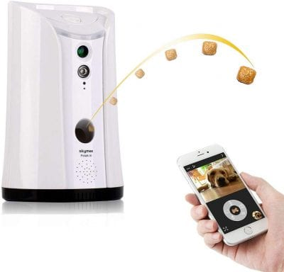 SKYMEE SM-02 Dog Camera Treat Dispenser
