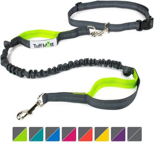 Tuff Mutt is the best leash for hiking with dogs available in 8 different colors.