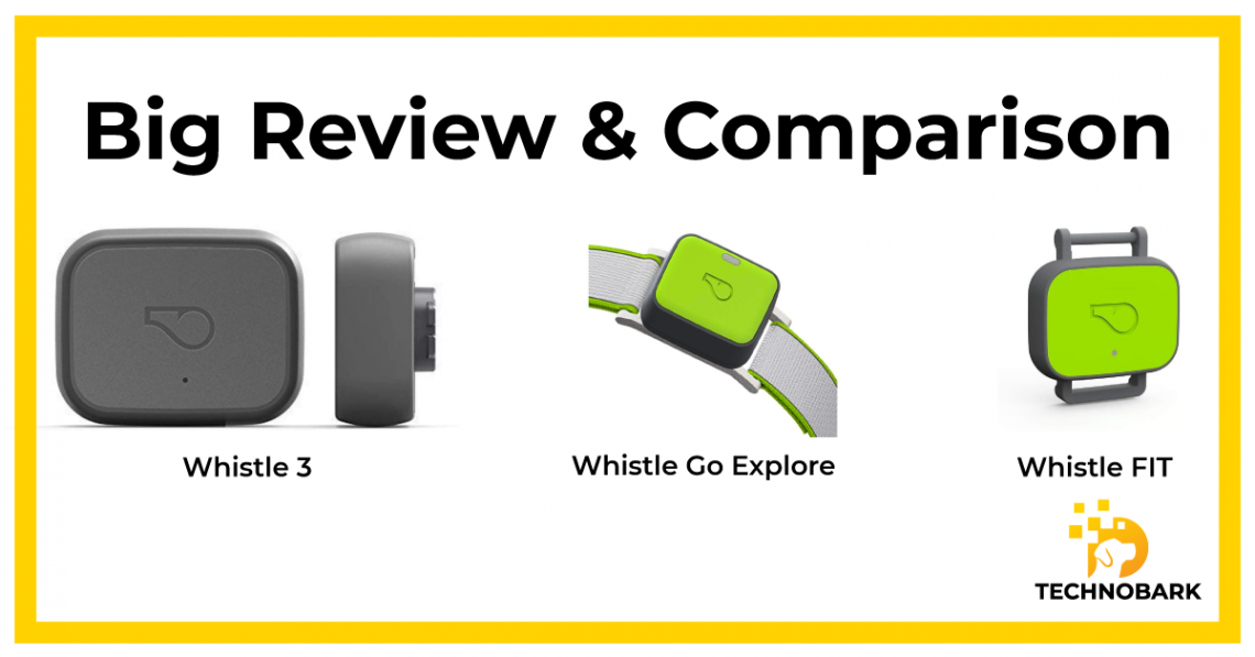 Whistle collars big review and comparison
