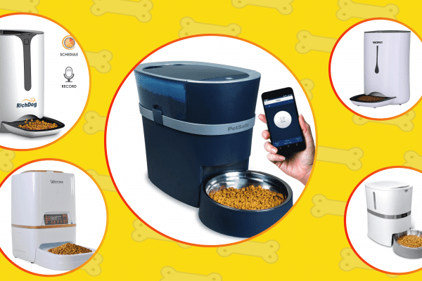 The list of the best smart dog feeders and automatic food dispensers by Technobark.
