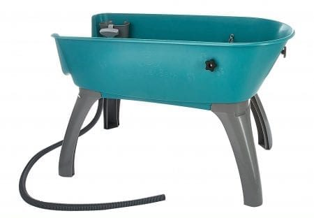 Booster Bath has also designed large grooming tub specifically for large dogs.