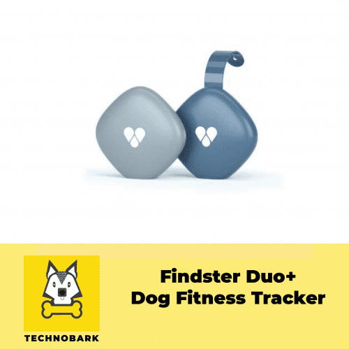 Findster Duo+ Dog Fitness Tracker in package.