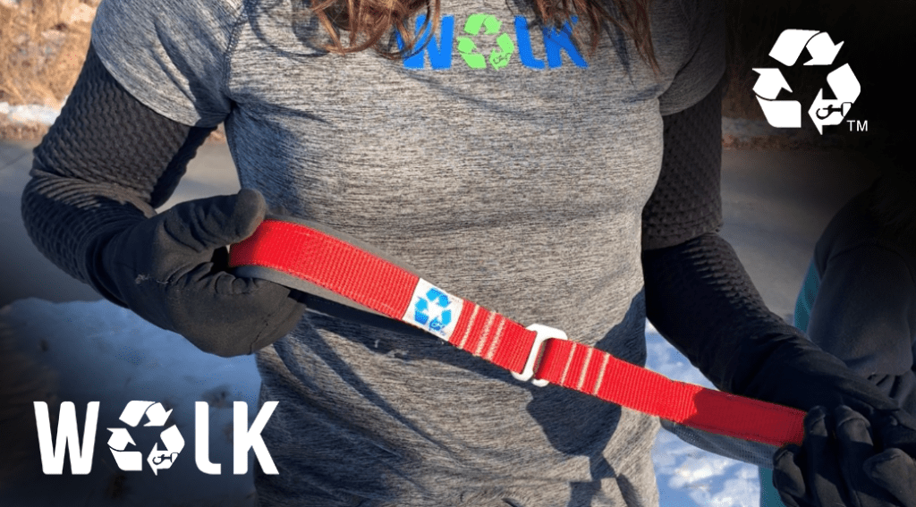 Noelle ReWALK Leash Red Kickstarter