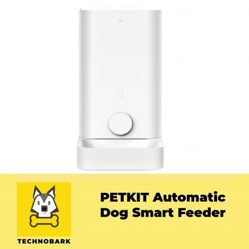 PETKIT automatic smart dog feeder in white color.