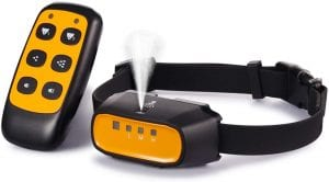 WWVVPET Citronella Spray Dog Training Collar