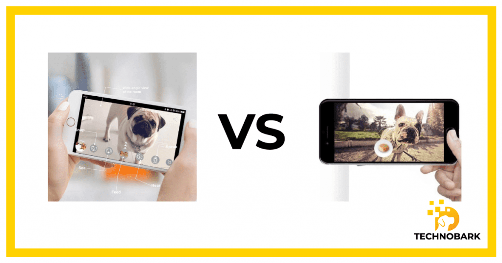 Video quality comparison of Skymee and Wopet.