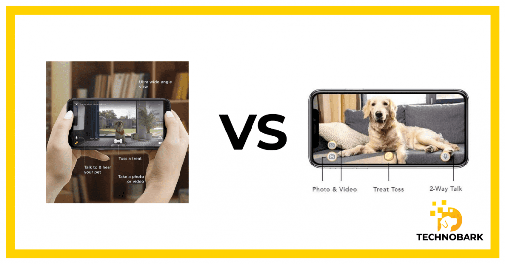 Video quality is different between Furbo and Petcube