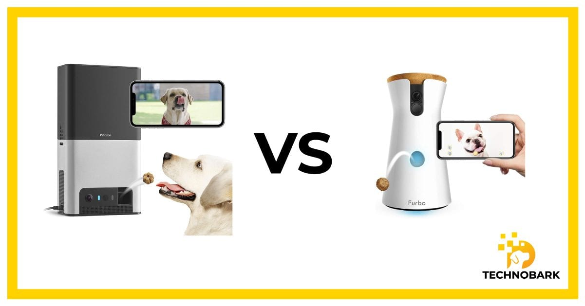 Treat tossing feature comparison between Furbo and Petcube