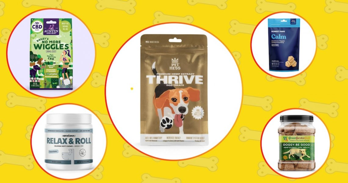 The list of the best CBD treats & chews for dogs.