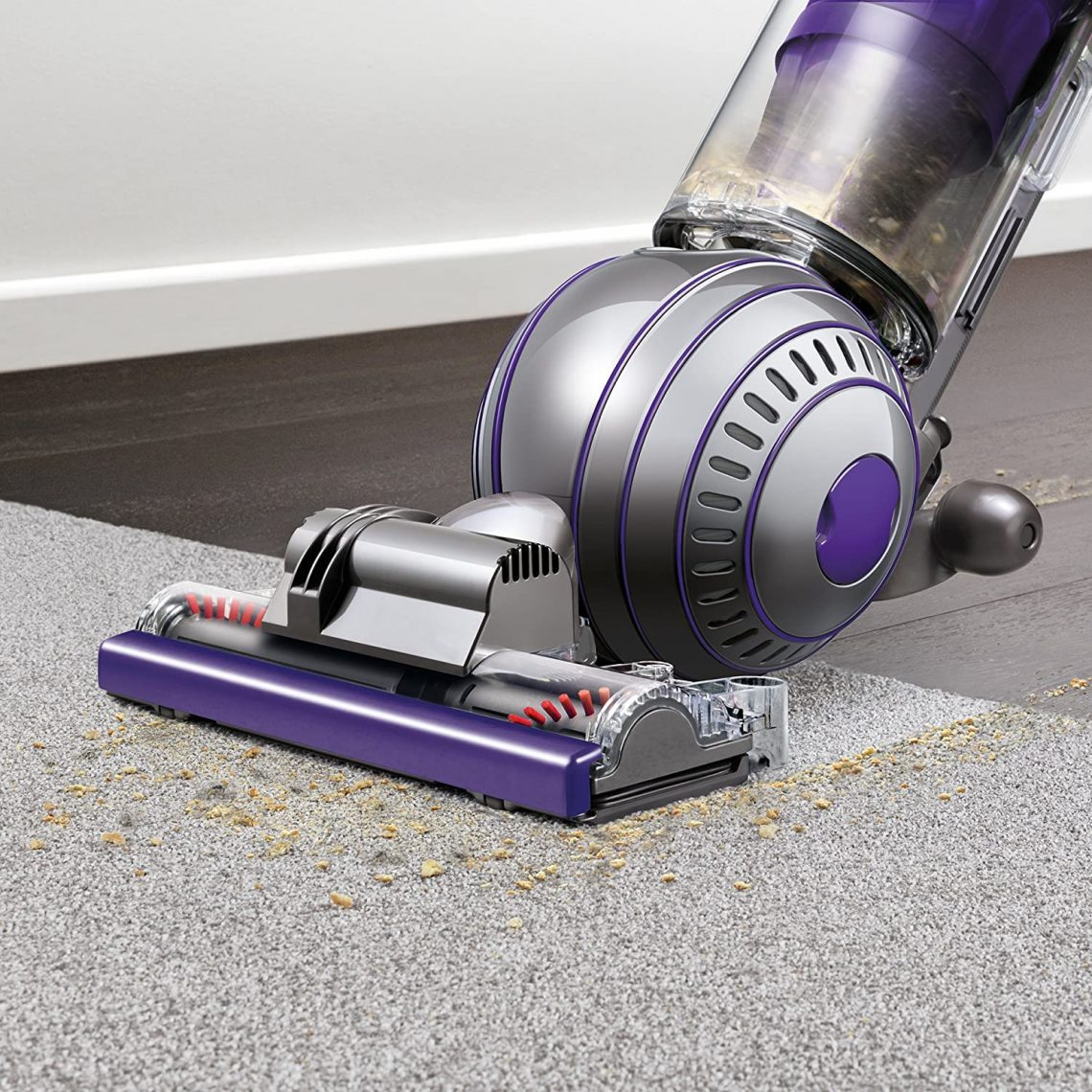 Dyson vacuum is not picking up pets hair from the carpet