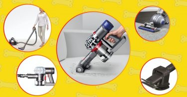Various Dyson vacuums that are the best for cleaning dog hair