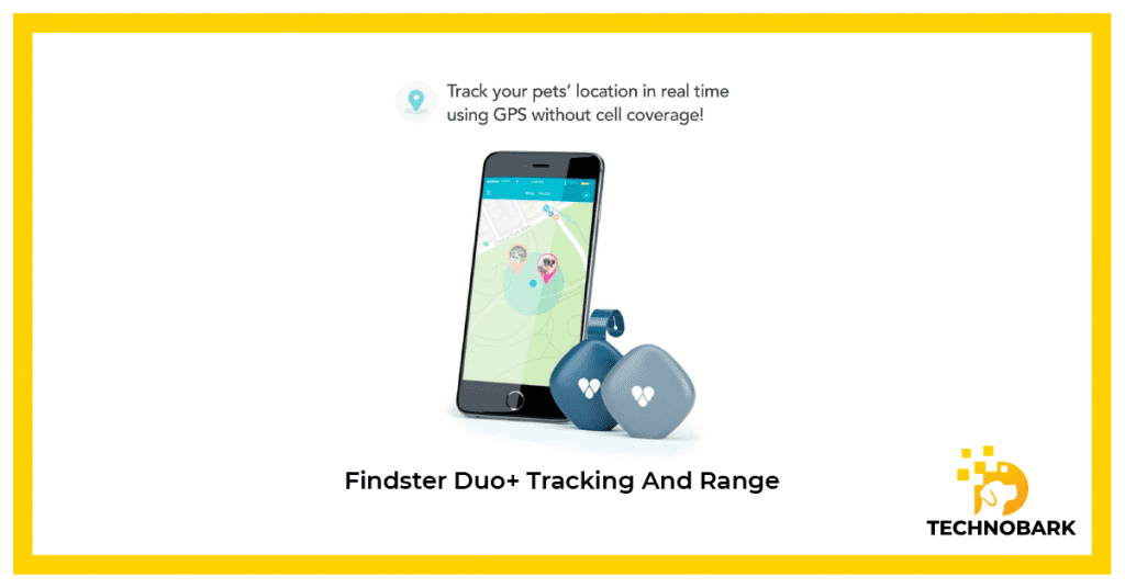 Findster Duo+ tracking range