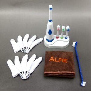 Alfie Pet dog electric toothbrush kit