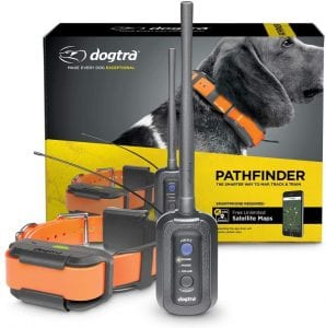 Dogtra Pathfinder GPS e-collar for tracking dogs