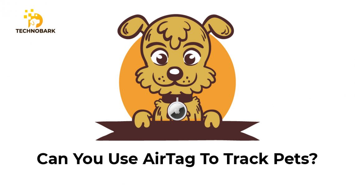 Using AirTag on a dog or cat